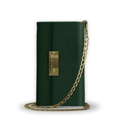 IDEAL OF SWEDEN Θήκη Wallet Kensington Crossbody Clutch Samsung Galaxy S9 Green IDKCC-S9-156