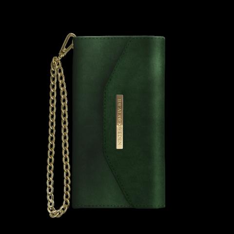 IDEAL OF SWEDEN Θήκη Fashion iPhone XS/X Mayfair Clutch Velvet Green IDMCV-I8-100