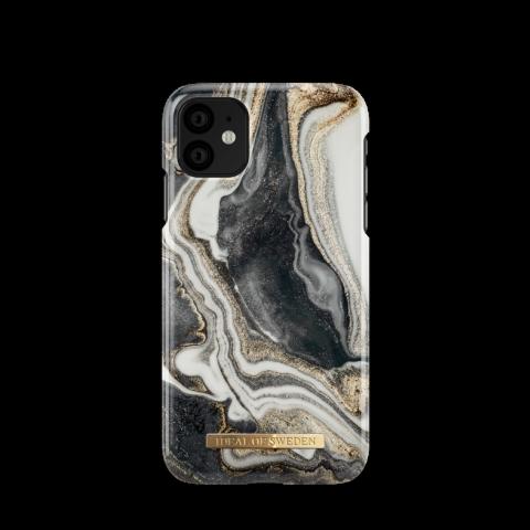iDEAL Θήκη Fashion iPhone 11/XR Golden Ash Marble IDFCGM19-I1961-166