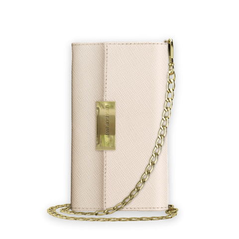 IDEAL OF SWEDEN Θήκη Wallet Kensington Crossbody Clutch iPhone 11 Pro/XS/X Beige IDKCC-I1958-128