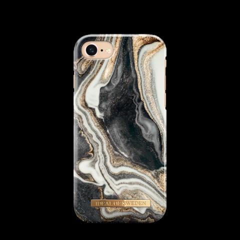 iDEAL Θήκη Fashion iPhone 8/7/6/6s Golden Ash Marble IDFCGM19-I7-166