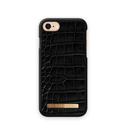 iDEAL Θήκη Fashion Saffiano iPhone 8/7/6/6S Noir Croco IDFCSADC19-I7-01
