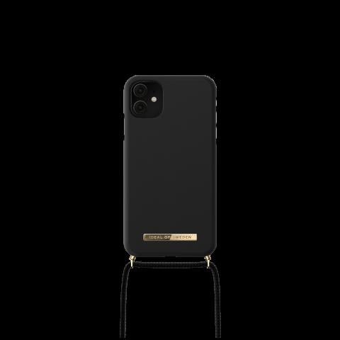 IDEAL OF SWEDEN θήκη λαιμού για iPhone 11/XR Jet Black IDPNSS21-I1961-267