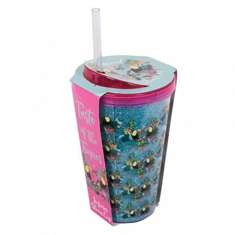 FIZZ Tropical Fruit Infuser Straw Cup 1322