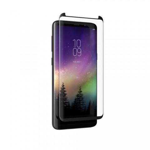 ZAGG InvisibleShield® Full Face Tempered Glass Full Glue – Samsung Galaxy S9 Plus (μαύρο πλαίσιο)