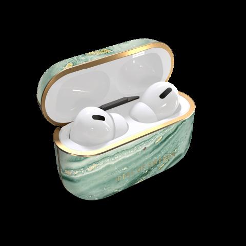 IDEAL OF SWEDEN θήκη για Airpods για Pro Mint Swirl Marble  IDFAPCSS21-PRO-258