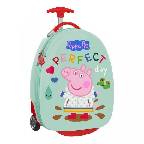 "Safta παιδική βαλίτσα τρόλεϋ Peppa Pig 16"" 612172848"