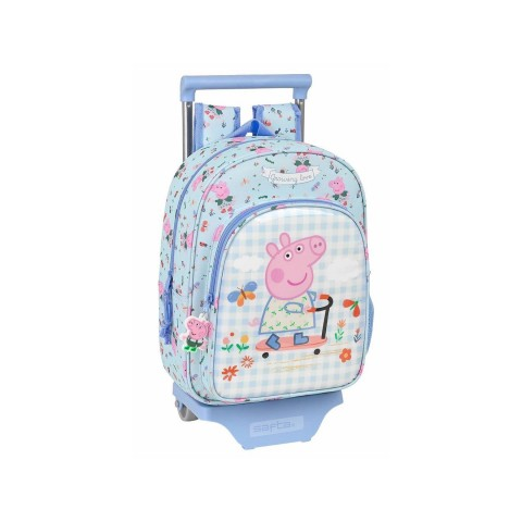 Safta Σχολική τσάντα Peppa Pig 28x10x67 εκ 612190020