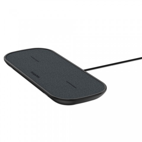 Mophie Dual Wireless Charging Pad Σταθμός φόρτισης για Quickcharge φόρτιση δύο συσκευών - μαύρος 409903635