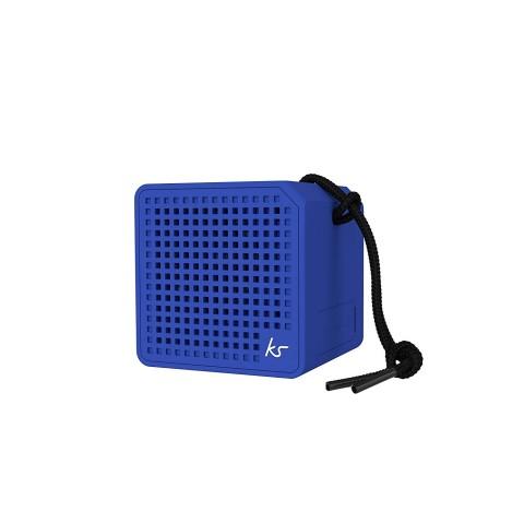 EOL - KITSOUND Φορητό Ηχείο Bluetooth BOXI 1.0 MINI Μπλε KSBOXIMBL