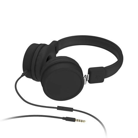 KITSOUND Brooklyn Wired On-Ear Headphones Μαύρο KSBROOBK