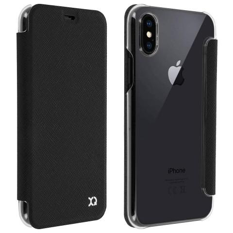 XQISIT θήκη Flap Adour iPhone X/Xs black 29970
