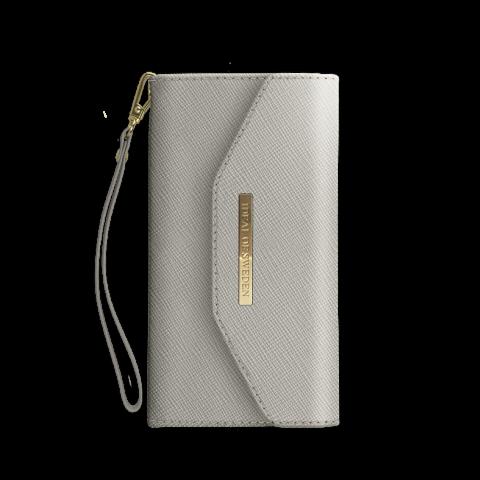 IDEAL OF SWEDEN Θήκη Mayfair Clutch iPhone XS/X Γκρι IDMC-I8-62