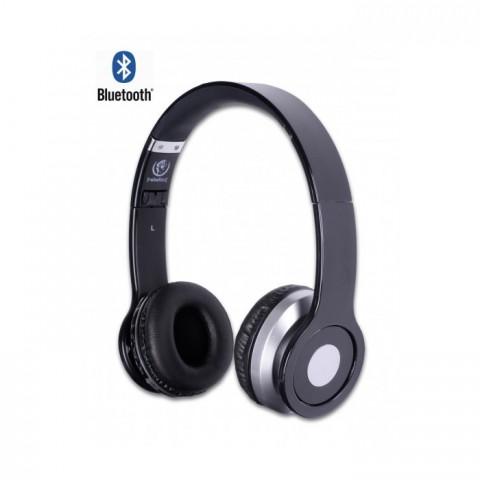 Rebeltec Ακουστικά wireless headphones Crystal Black