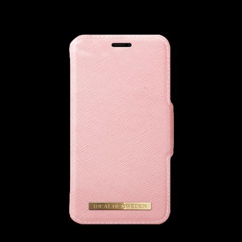 IDEAL OF SWEDEN Θήκη iPhone X/XS Fashion Wallet Pink Saffiano IDFW-I8-51