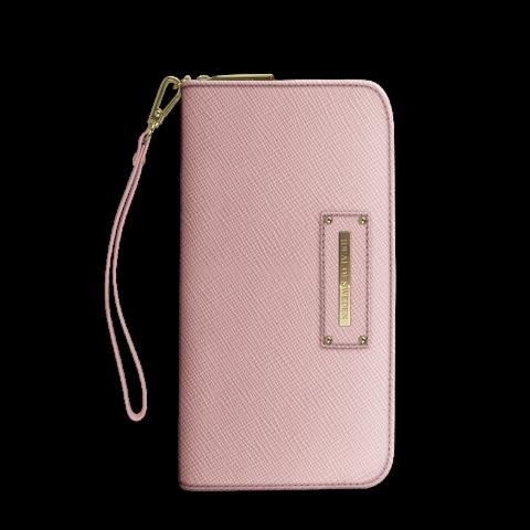 iDEAL Chelsea Wristlet Saffiano Pink IDCWS-51