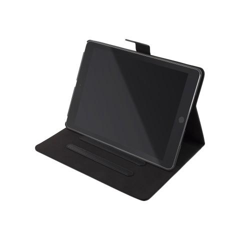 "DELTACO iPad 10.2"" 2019 case, vegan leather, sleep/wake, stand, black IPD-2019"