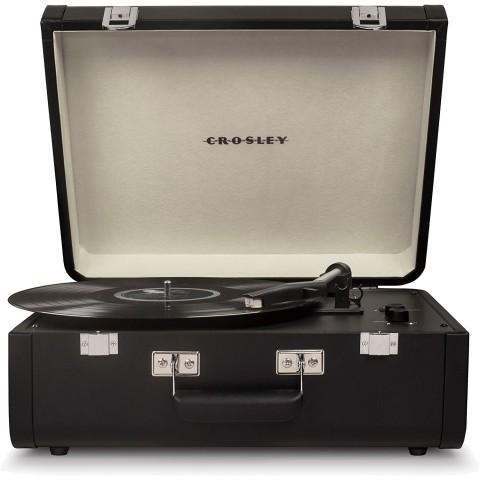 CROSLEY Πικάπ Βαλιτσάκι Portfolio - Black CR6252A-BK SF0021RP-BK
