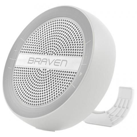 BRAVEN Φορητό Ηχείο Bluetooth Mira Ασημί BMRAGSW