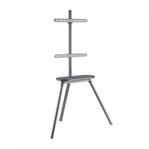 Brateck Kickstand Style Studio TV Floor Stand With Felt Shelf FS28-44F-01