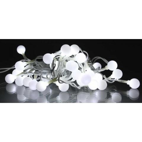 Well Λαμπάκια γιρλάντα 30 LED κρύο ανοιχτόχρωμο λευκό καλώδιο