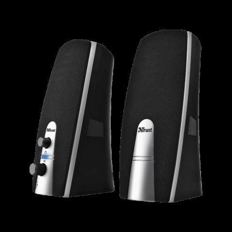 Trust Ηχεία 2.0 MiLa Speaker Set - Μάυρο 16697-04