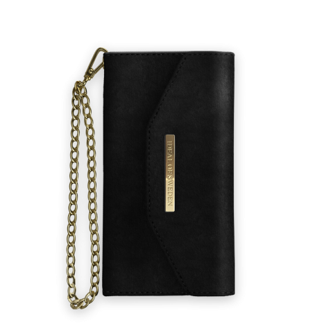 IDEAL OF SWEDEN Θήκη Fashion iPhone XS Max Mayfair Clutch Velvet Black IDMCV-I1865-01