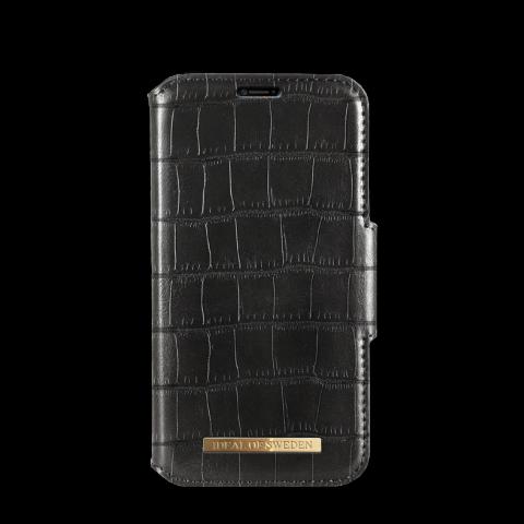 IDEAL OF SWEDEN Θήκη iPhone XS MAX Capri Wallet Black Croco IDFW-I1865-CAP-01