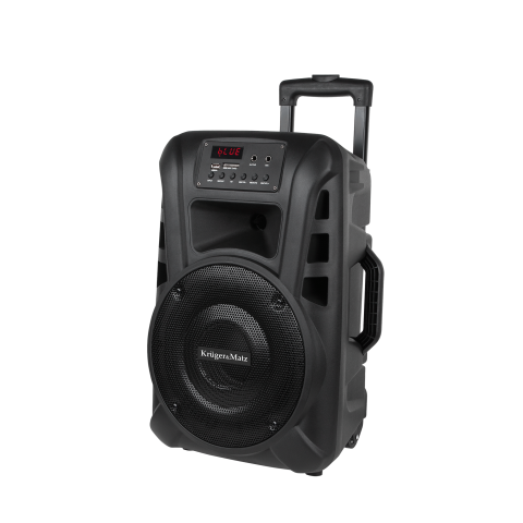"Kruger&Matz Φορητό Ηχείο 10"" με Bluetooth, Ράδιο, USB, SD, Τηλεχειριστήριο & 2 Μικρόφωνα KM1710"