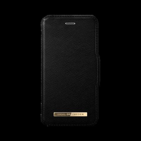 IDEAL OF SWEDEN Θήκη iPhone 8/7/6/6s Plus Fashion Wallet Black Saffiano IDFW-I7P-01