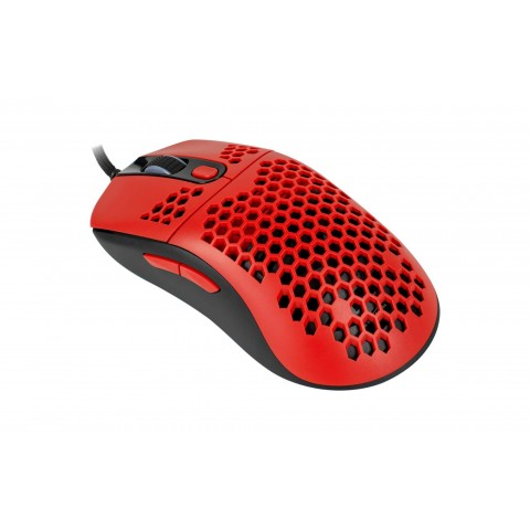 Arozzi ποντίκι gaming Favo Ultra Light  Black / Red  AZ-FAVO-BKRD