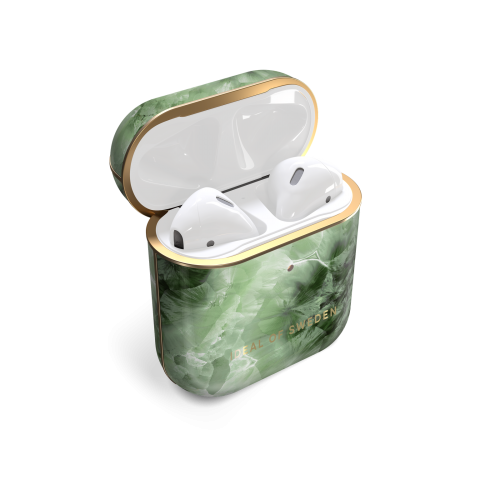 IDEAL OF SWEDEN θήκη για Airpod Crystal Green Sky IDFAPC-230