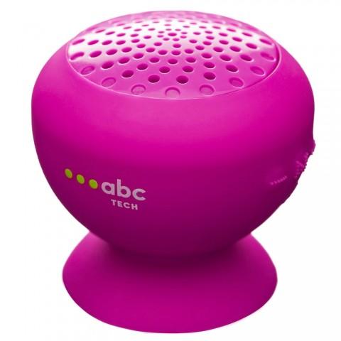 ABC Tech Αδιάβροχο Ηχείο Bluetooth Ροζ 134606