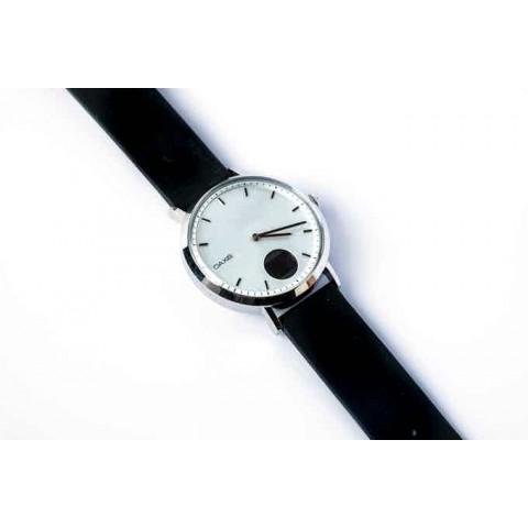 Οaxis TIMEPIECE Smartwatch Αναλογικό με Heart Rate Ασημί 41mm TP4101SA-WE01