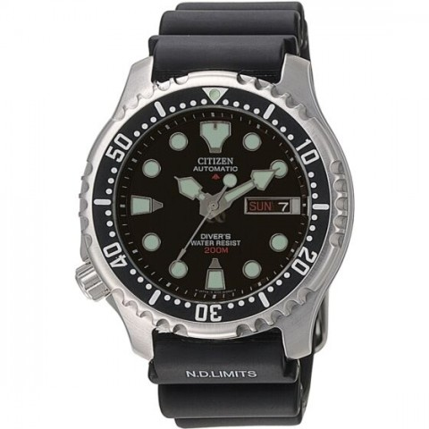 "Citizen Ανδρικό Ρολόι Promaster Automatic Diver""s NY0040 09EE"