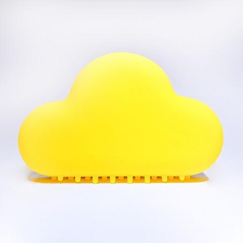 Allocacoc® NightLamp Cloud |MUID| Φωτάκι νυκτός συννεφάκι με ηχητική ενεργοποίηση (κίτρινο) DH0099/CLNTLP