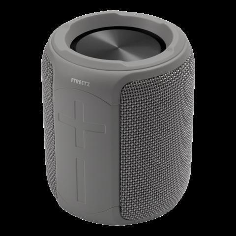 Streetz Φορητό Ηχείο Bluetooth 2x5 W grey Waterproof, IPX7 CM766