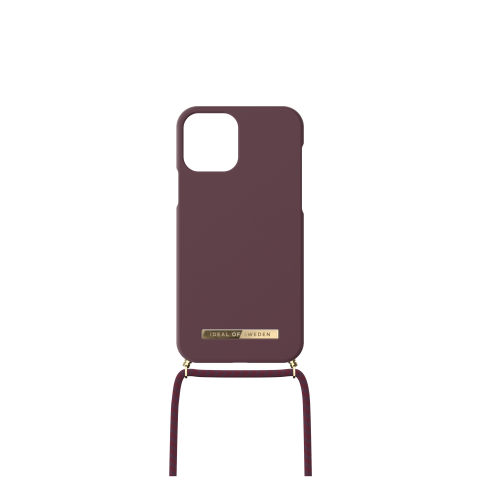 "IDEAL OF SWEDEN Θήκη Ordinary θήκη λαιμού DEEP CHERRY iPhone 2021 6,1"" IDONCAW21-I2161-323"