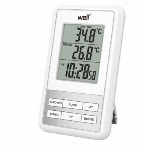 WELL Ψηφιακό θερμόμετρο εξωτερικού/εσωτερικού χώρου THERM-OUTD-SENSE-WL