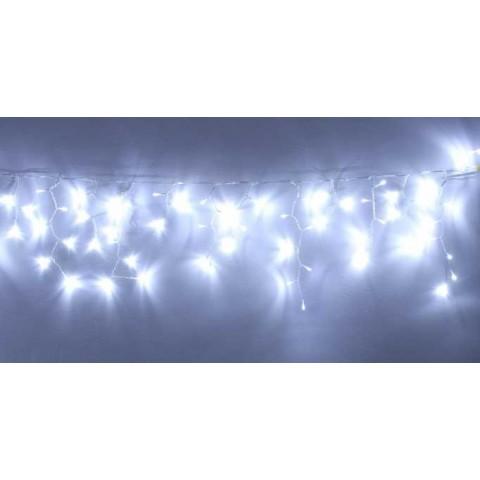 Well Λαμπάκια τύπου κουρτίνας 240 LED κρύου φωτός διαφανές καλώδιο