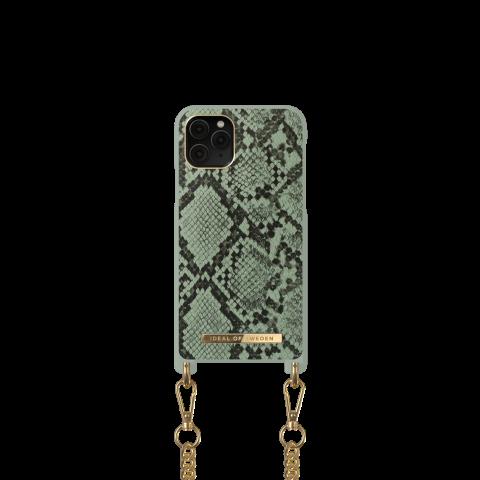 IDEAL OF SWEDEN θήκη λαιμού iPhone 11 Pro/XS/X  KHAKI PYTHON DNCSS20-I1958-204