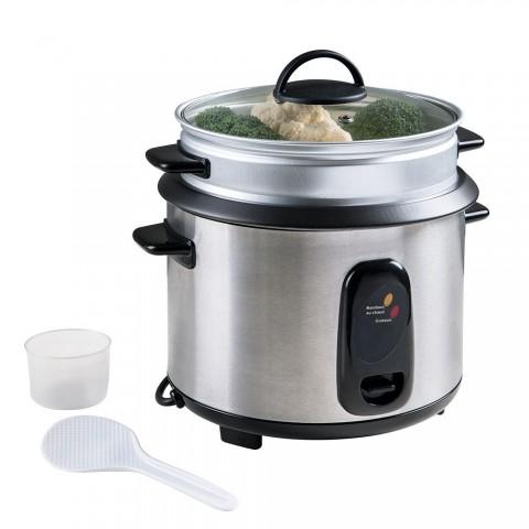 LIVOO βραστήρας ρυζιού και ατμομάγειρας 1,8lt 700W DOC100A