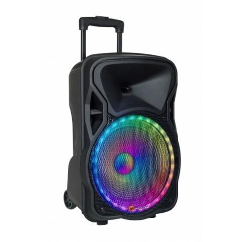 N-Gear 300 Watt ηχείο Bluetooth με USB,SD και AUX με 1x ασύρματο και 1x ενσύρματο μικρόφωνο και τηλεχειριστήριο The Flash 1205