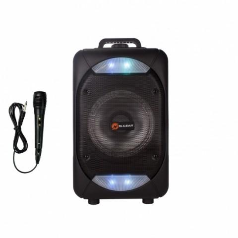 N-Gear 100 Watt αυτοενισχυόμενο Bluetooth ηχείο με USB,MicroSD,AUX-IN,μικρόφωνο και φωτορυθμικά The Flash 610