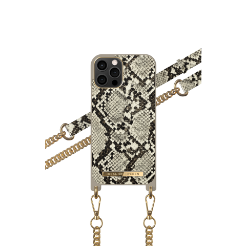IDEAL OF SWEDEN για το iPhone 12/12 Pro Phone Necklace Case Desert Python IDNCSS20-I2061-203