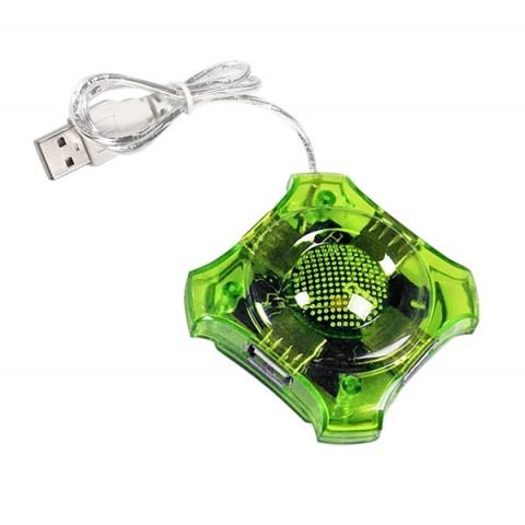 Esperanza Usb Hub Green EA150G