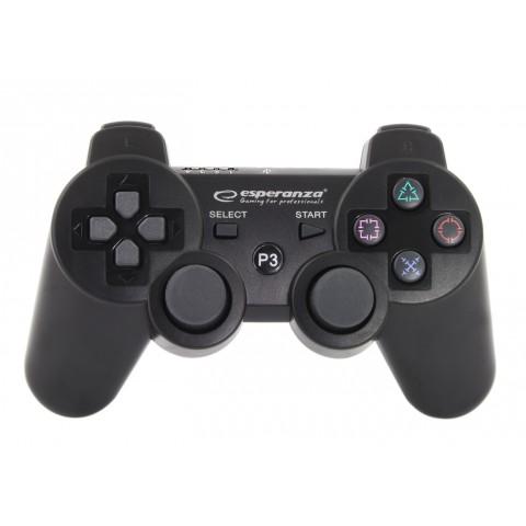 Esperanza Gamepad PS3 Black EGG109K