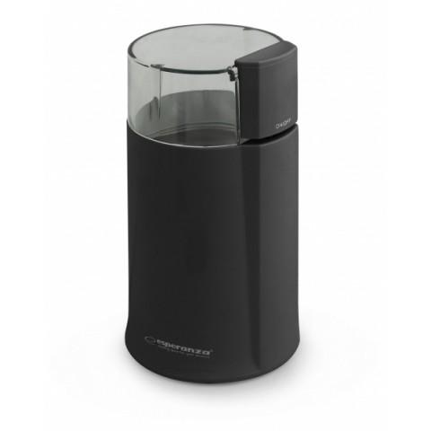 Esperanza Μύλος Άλεσης Καφέ Espresso EKC001K 160W Black