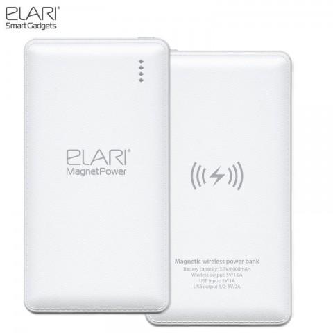 Elari power bank MP-36 MagnetPower Qi Wireless 6000mAh black