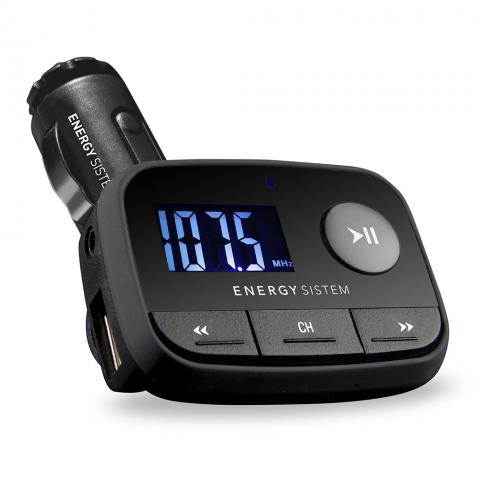 ENERGY SISTEM MP3 Αυτοκινήτου F2 Black Night Μαύρο 384600